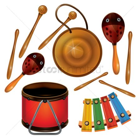 Racks : Percussion instruments