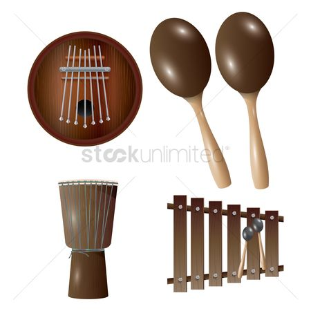 Funfair : Percussion instruments
