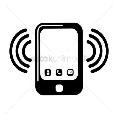 Notification : Phone vibration icon