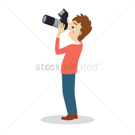 Photographers : Photographer taking a picture