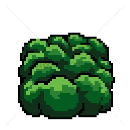 Free Pixel Art Bush Stock Vectors Stockunlimited