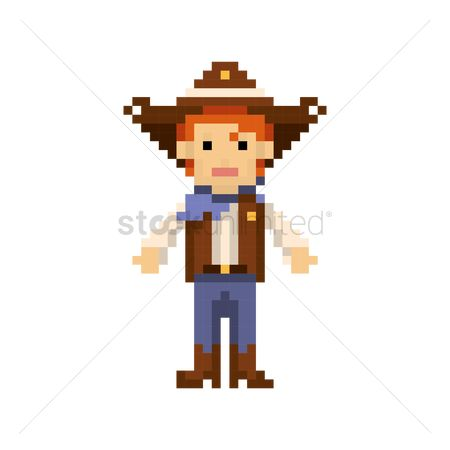 Free Male Boots Stock Vectors