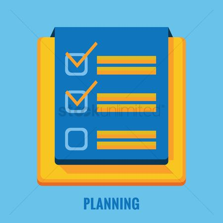 Checklists : Planning