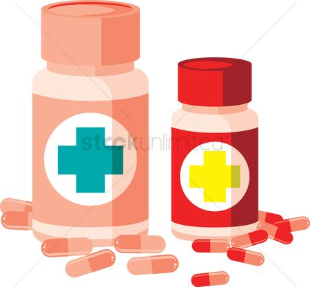 Medical : Plastic medicine bottles