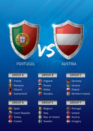 Ukraine : Portugal vs austria
