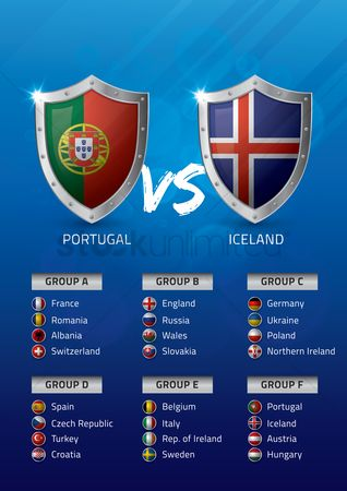 Ukraine : Portugal vs iceland