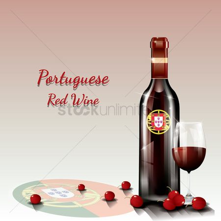 Red wines : Portuguese red wine