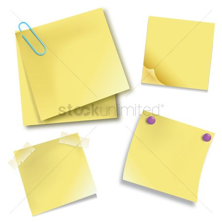 Paper : Post it notes
