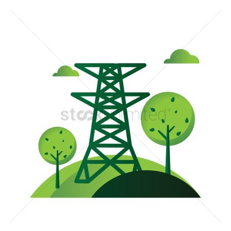 Aware : Power transmission tower