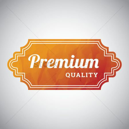 Oldfashioned : Premium quality label