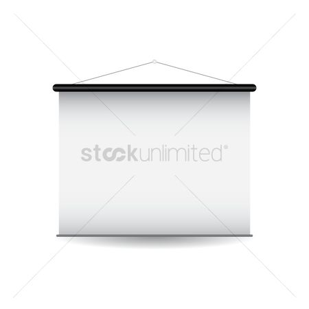 Roller : Projector screen