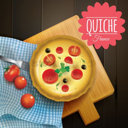 Cloth : Quiche
