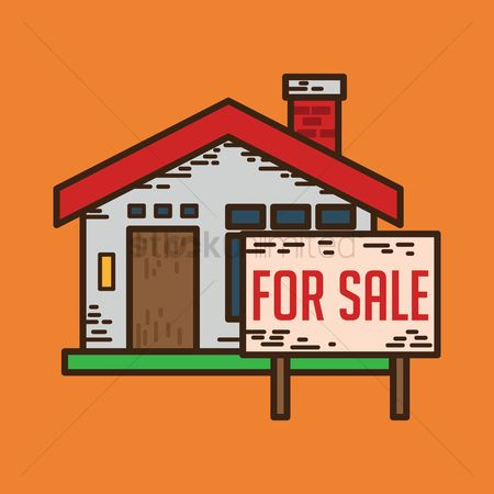 Signages : Real estate property for sale
