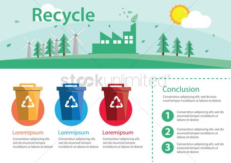 conclusion in recycle Our goal on this project was to learn about recycling we wanted to find out how our school's recycling programs could be improved, and effectively apply what we learned to encourage our classmates to work toward a less wasteful school environment.