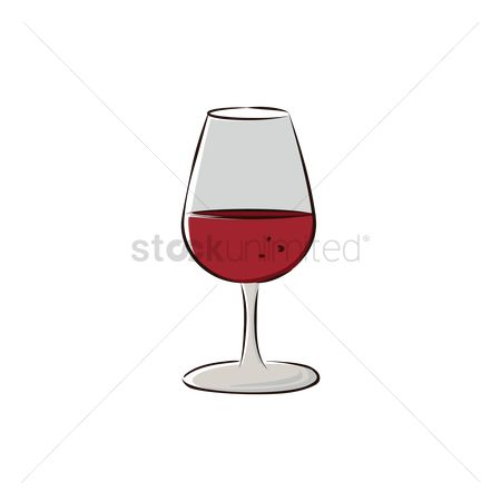Red wines : Red wine in glass