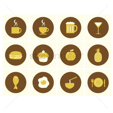 Eat : Restaurant icons
