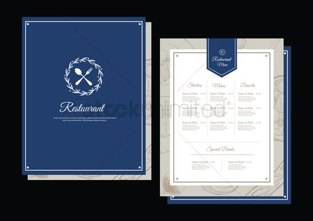 Signages : Restaurant menu concept