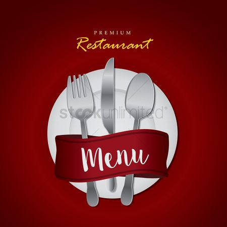 Plates : Restaurant menu design