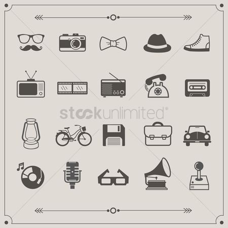 Clothings : Retro icons