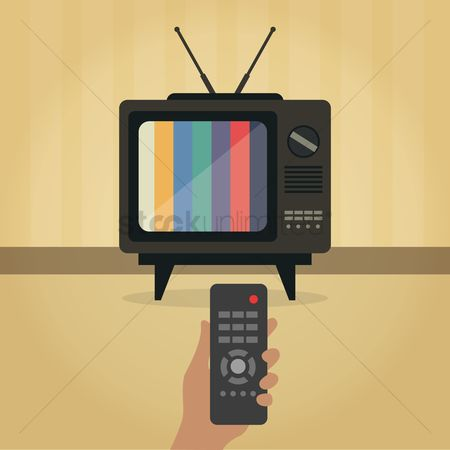 Retro : Retro television and remote