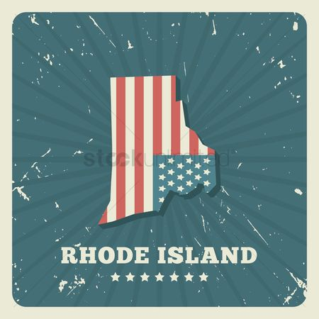 Oldfashioned : Rhode island map