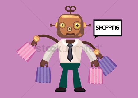 Mechanicals : Robot going shopping