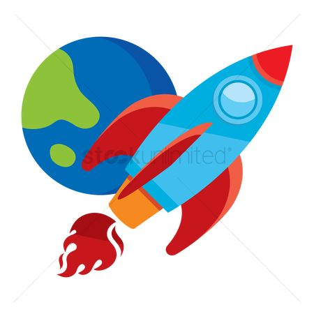 Fuel : Rocket ship and earth
