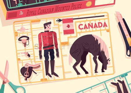 Accessories : Royal canadian mounted police