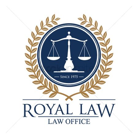 Royal : Royal law logo element