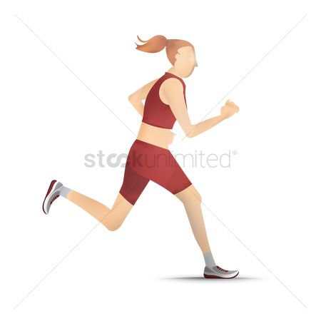 Athletes : Running girl