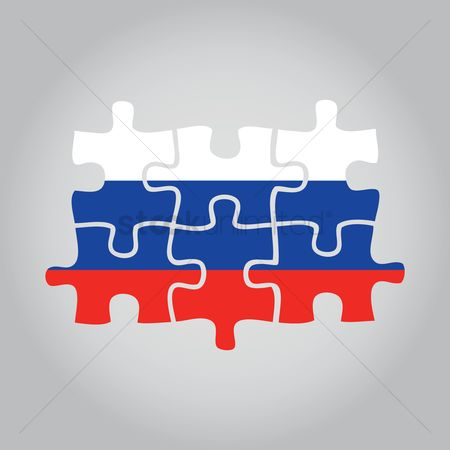 Jigsaw : Russian flag