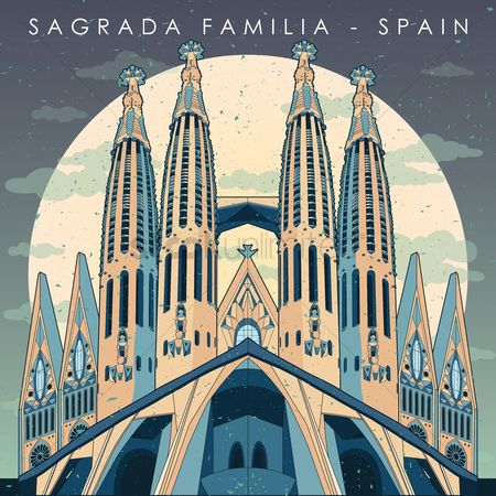 Monuments : Sagrada familia