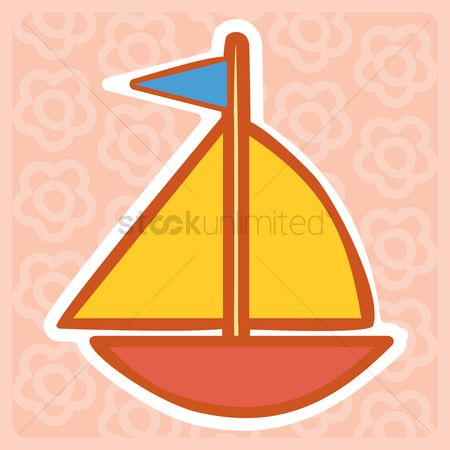 Play kids : Sail baot