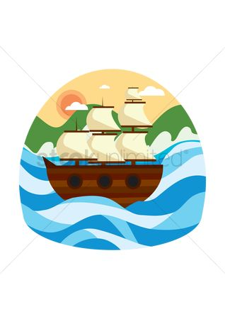 Vessel : Sailing ship