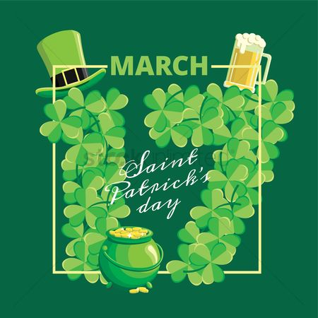 17 : Saint patrick s day design