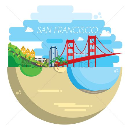 Tourist attraction : San francisco city