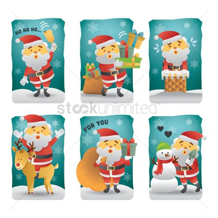 Gifts : Santa clause icons