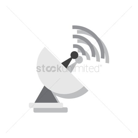Broadcasting : Satellite dish