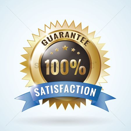 Insignia : Satisfaction guarantee badge