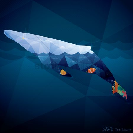 Marine life : Save the earth wallpaper