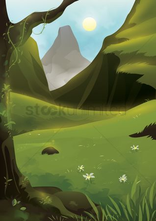 Mountains : Scenic landscape