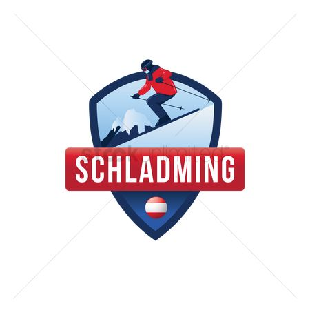 Skiing : Schladming label