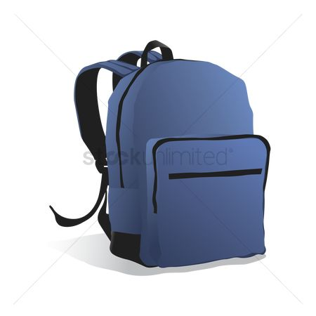 School bag : School backpack