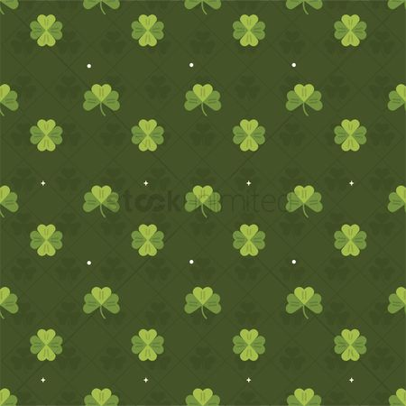 Free Seamless Patterns Green Stock Vectors | StockUnlimited
