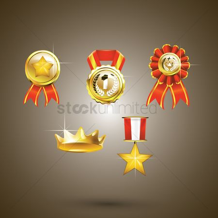 Achievements : Set of awards