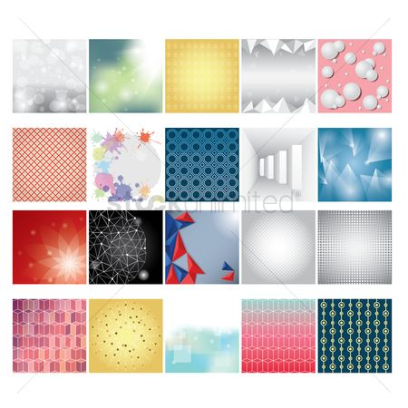 Geometrics : Set of backgrounds