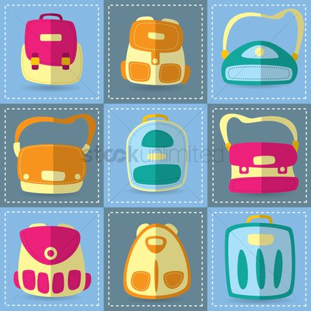 School bag : Set of bags