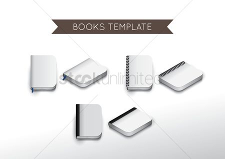 Supply : Set of book icons