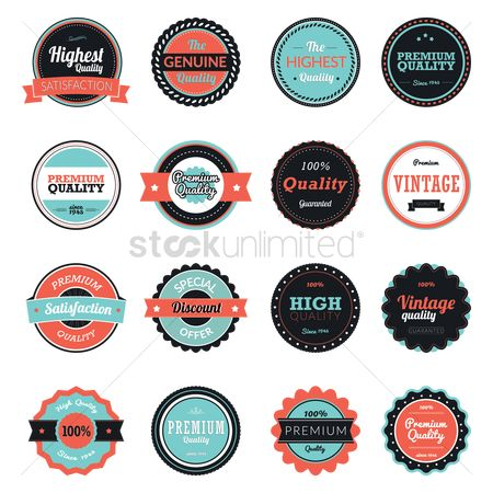 Discounts : Set of business labels