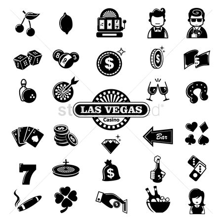 Guys : Set of casino icons